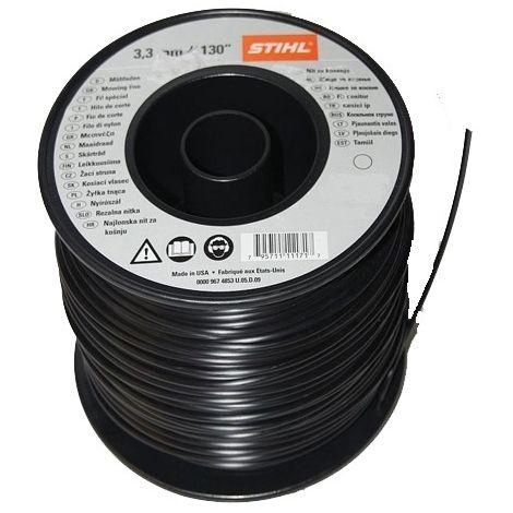 Bobina filo nylon tondo Stihl 3,3 mm da 228 metri per decespugliatore