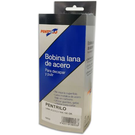 BOBINA LANA DE ACERO FINA 0000 150 gr