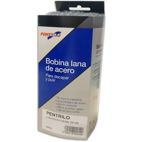 BOBINA LANA DE ACERO MEDIA 00 150 gr