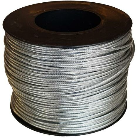 Bobine de câble acier 1,5 mm 100 ML