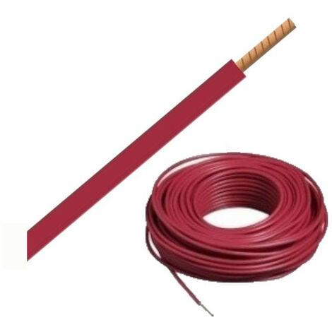 """main image of """"Bobine de Câble H07VR 6 mm² - 100 m - Rouge"""""""
