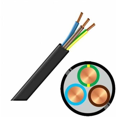Bobine de câble RO2V 3G 2,5 mm² - Au mètre