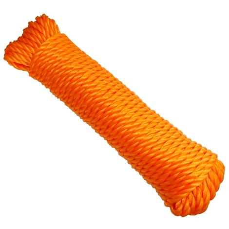 Bobine de corde fil à linge 7mm 20m couleurs variables