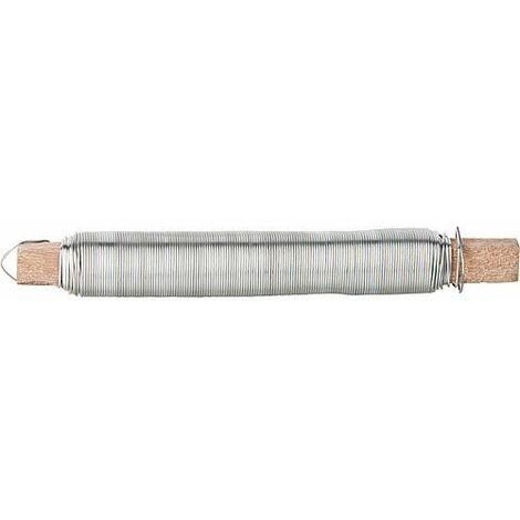Bobine de fil 0,65mm, zinguée 100 g