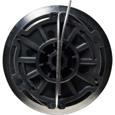 Bobine de fil Bosch - Accessoire pour coupe-bordures ART (8m, ? 1,6mm, Noir)