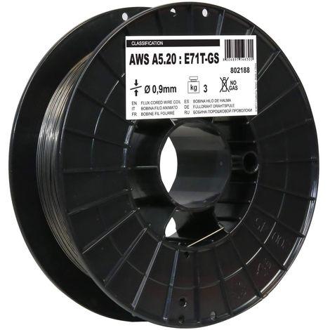 Bobine de fil d'animation pour soudage par fil Telwin 0,9 mm de diamètre de 0,8 à 3 kg.