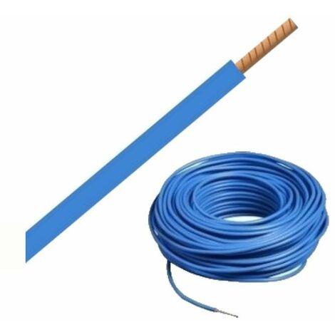 """main image of """"Bobine de fil H07VR 16 mm² - Bleu - 100 mètres"""""""