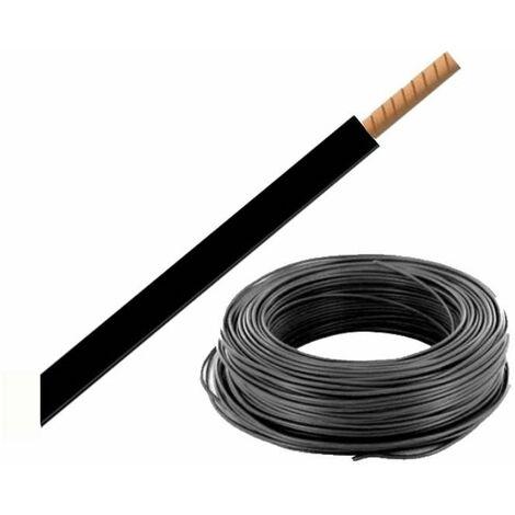 """main image of """"Bobine de fil H07VR 16 mm² - Noir - 100 mètres"""""""