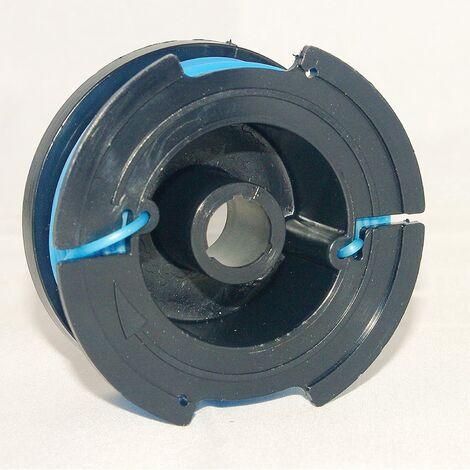 Bobine de fil pour coupe-bordure compatible avec la débroussailleuse Black & Decker GL301