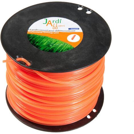 Bobine de fil professionnel pour débroussailleuse étoilé 3mmx310mètres