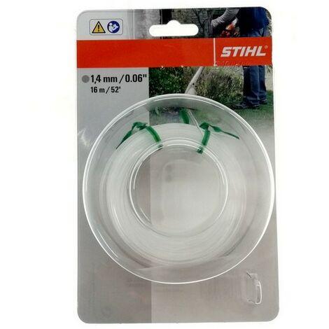 Bobine de fil rond coupe bordures Stihl 1.4 mm X 16 mètres