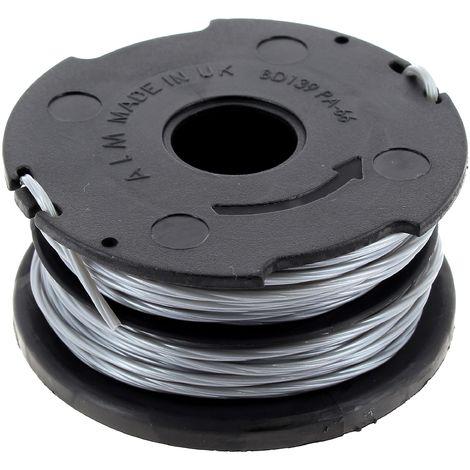Bobine + fil 1,5mm pour Coupe bordures Black & decker