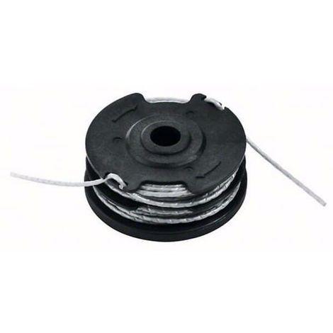 Bobine + fil (6 metres x 1,6mm) pour Debroussailleuse Bosch, Coupe bordures Bosch