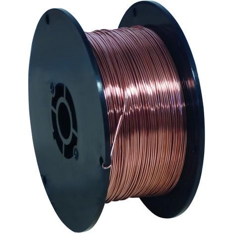Bobine fil acier pour soudure diamètre 0,6 mm - S05250