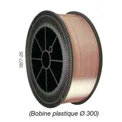 Bobine fil acier spires Steelmig G2 1mm SAF 15kg