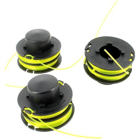 Bobine + fil d=1,2mm par 3 pour Coupe bordures Ryobi