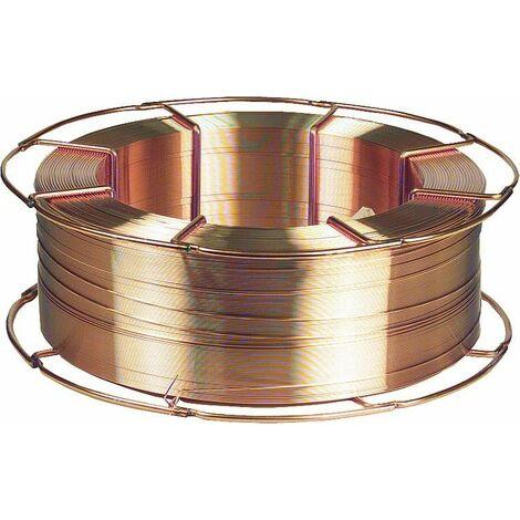 Bobine fil de soudure MAG Carbofil SG1 II épaisseur 1,0 mm 1,0mm - K300, 15Kg - sécurité gaz