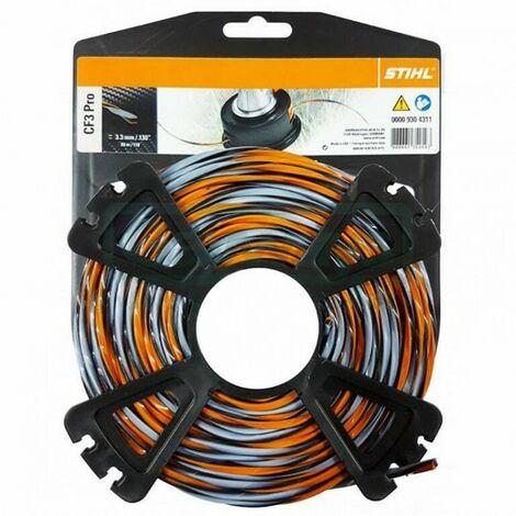 Bobine fil débroussailleuse Stihl carbone CF3 Pro 3.3 mm