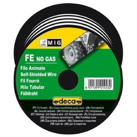 DECA Bobine fil fourré pour soudure MIG acier Ø fil 0.9 mm 0.7 kg