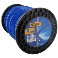 Bobine fil nylon carré OZAKI 120 m diamètre 4,00 mm