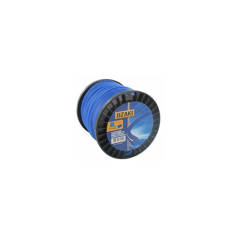 Bobine fil nylon carré OZAKI - Longueur: 130m, Ø: 2,00mm