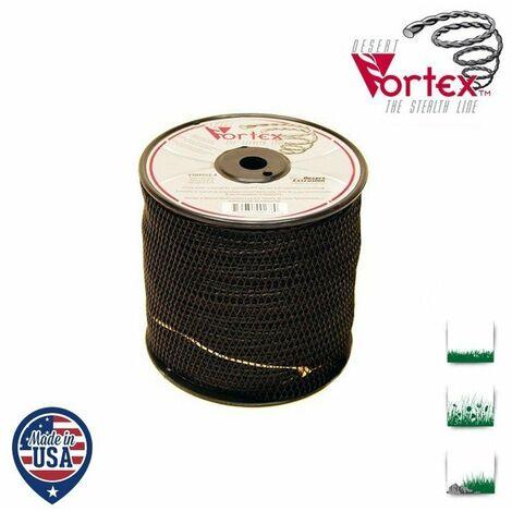 Bobine fil nylon hélicoïdal copolymère VORTEX - 2,70 mm x 167m - qualité professionnelle - fabrication américaine