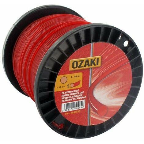 Bobine fil nylon rond OZAKI 420 m diamètre 1,60 mm
