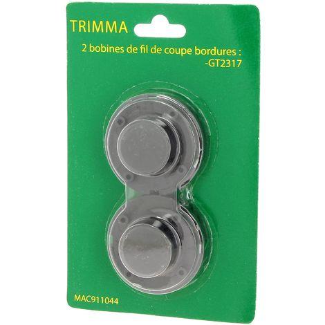 Bobine + fil par 2 pour Coupe bordures Trimma