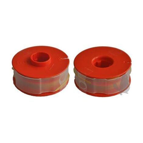 Bobine fil pour débroussailleuse Bosch modèle Accu - Ø fil : 1,3mm.
