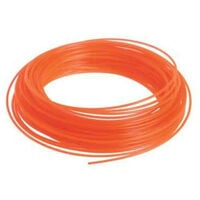 Bobine fil rond RYOBI 15m diamètre 1.2mm orange universel RAC100