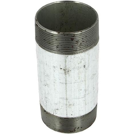 """Bobine fonte galva longueur 150mm Mâle 2""""1/2"""