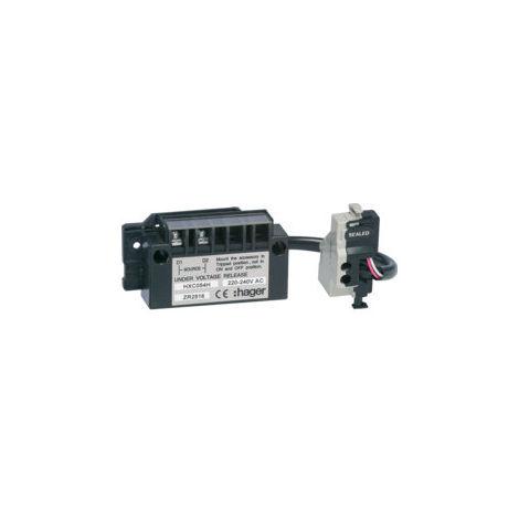 Bobine manque tension retardée h250-h630 220-240V AC (HXC054H)