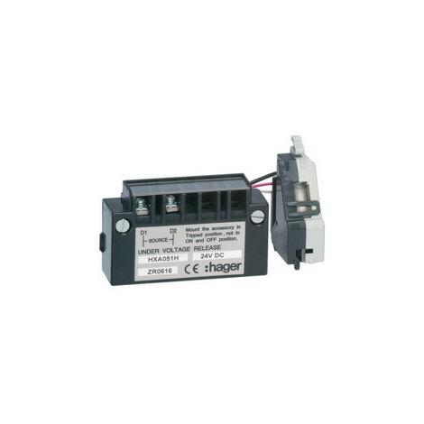 Bobine manque tension retardée x160-250 24V DC (HXA051H)
