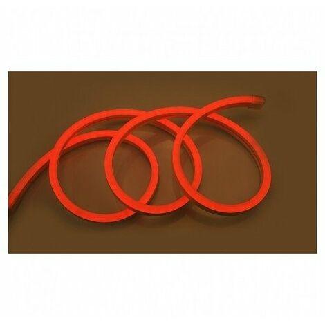 Bobine néon flex LED 18x11 mm - 50m - 8W/M - 230V - Rouge - IP65 - Non dimmable