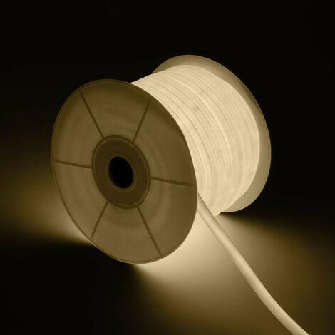 Bobine Néon LED Rond 360 Flexible 120LED/m Blanc Neutre 50 Mètres Blanc Neutre - Blanc Neutre