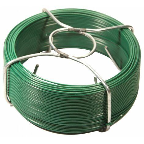 Bobinot plastifié plastifiée vert 1,5 x 100