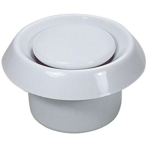 Boca de extracción de plástico BALANCE E-100 - Blanco