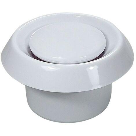 Boca de extracción de plástico BALANCE E-150 - Blanco