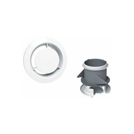 Boca de extracción fija sanitaria de 80 mm de diámetro y manguito chapado