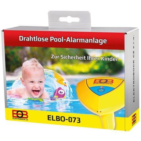 Bock elettrico per piscina impianto di allarme senza fili, 1pezzo, Elbo -073