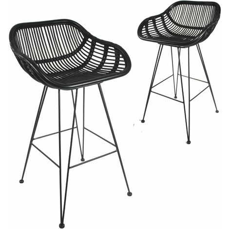 Bodan Bar Stool Black - Black