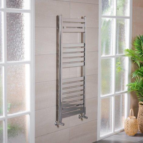 "main image of ""Designer Flat Panel Heated Towel Rail Radiators - ALL SIZES - 10YR GUARANTEE"""