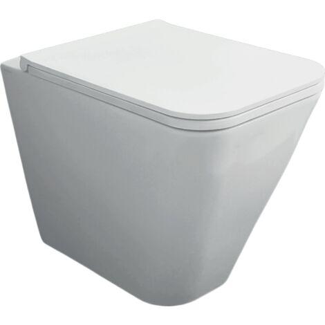 Boden-Toilette aus Keramik 36x55 cm serie Crio