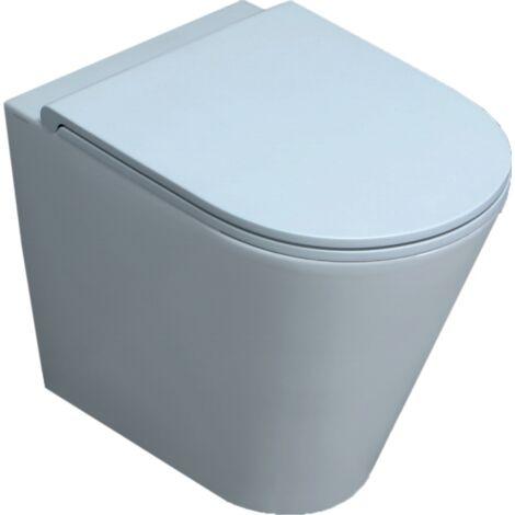 Boden-Toilette aus Keramik 37x54 cm serie Luna