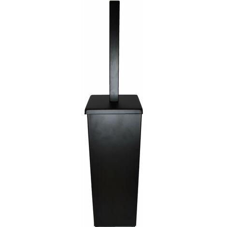 Bodenstehender Toilettenbürstenhalter in mattschwarzem Capannoli Nook NK114 MM | matt-schwarz