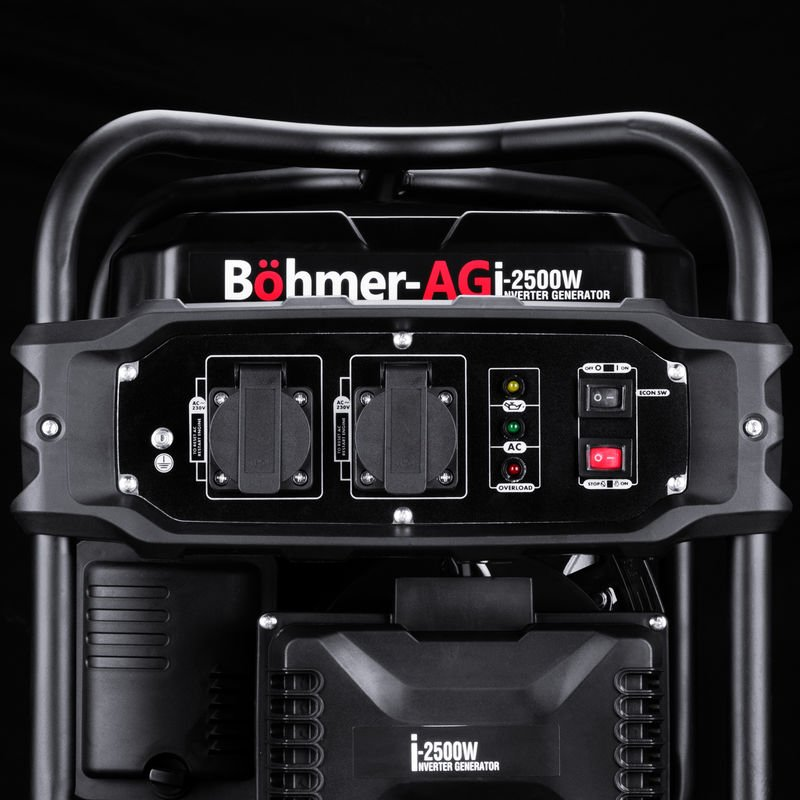 EU Prises Groupe électrogène Onduleur i-2500W- 2KW Silencieux Böhmer-AG