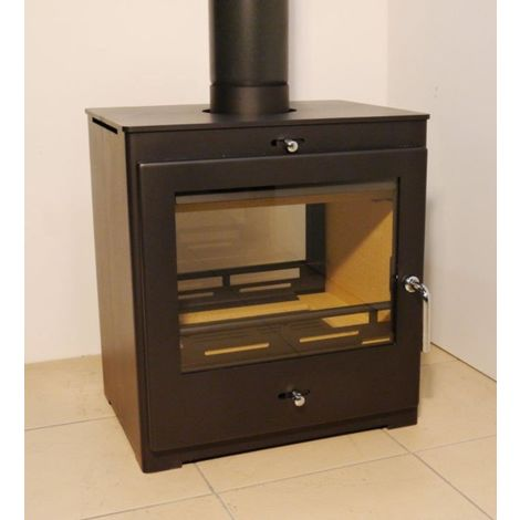 Bohemia 60 Cube Double Sided Stove