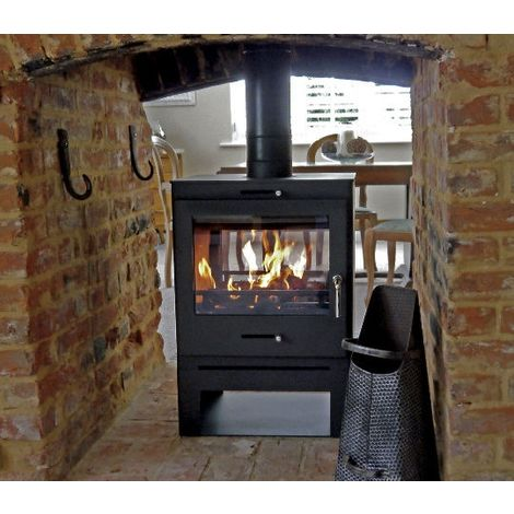 Bohemia 60 Cube Double Sided Stove High Stand
