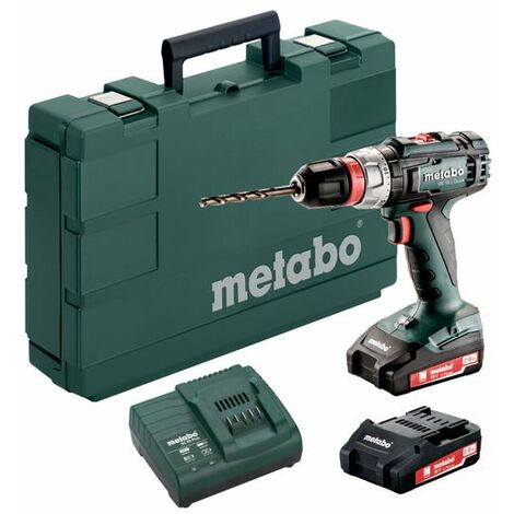 SC60 Plus Ladegerät Metabo BS 14.4  Akku-Bohrschrauber 2 x 2,0Ah