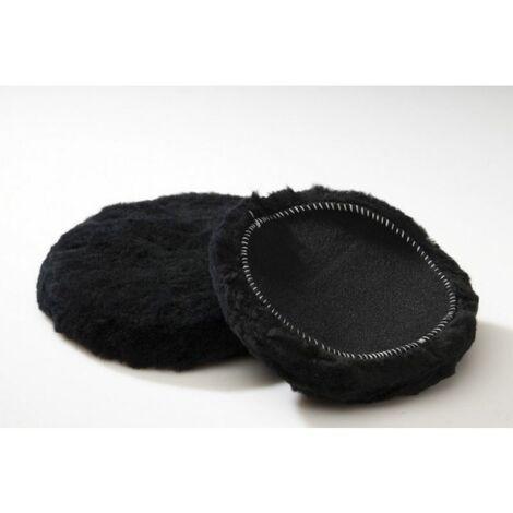 Boina - bonete para pulir. pura lana 100%. diámetro 150mm negro Asein